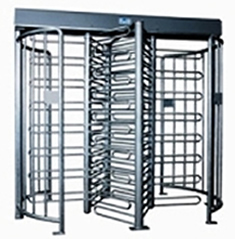 Tandem Prison-Grade Turnstile w/4 Card Readers